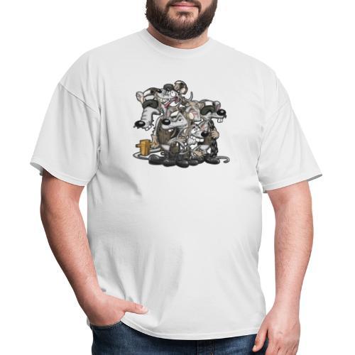 Line Rats - Men's T-Shirt