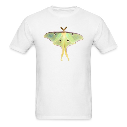 GREEN LUNA MOTH - Men's T-Shirt