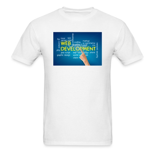 web development design - Men's T-Shirt