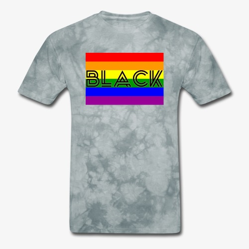 Black LGBTQ - Men's T-Shirt