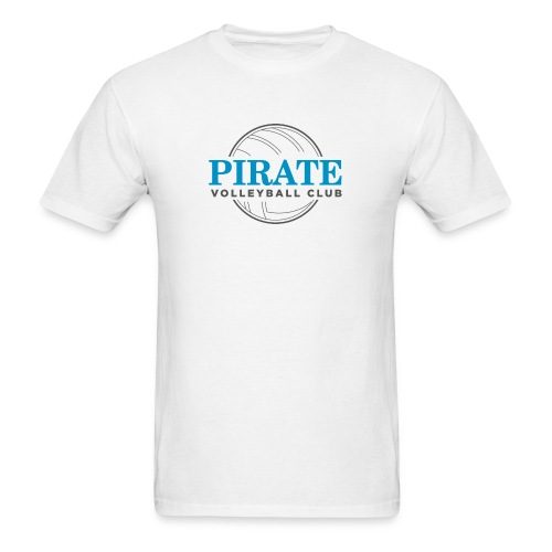Pirate Volleyball Club Logo - Men's T-Shirt