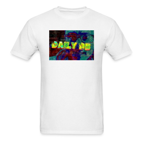 daily db poster - Men's T-Shirt