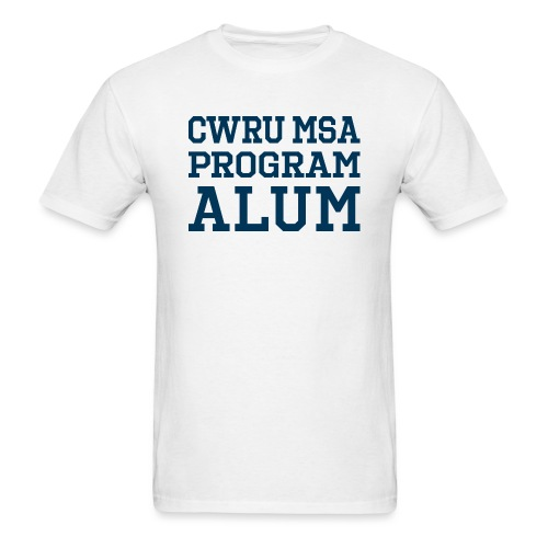 CWRU MSA Program Alum - Men's T-Shirt