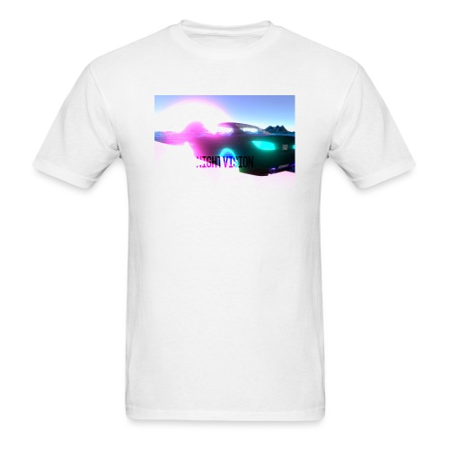 Nightvision Cyberspace Poster - Men's T-Shirt