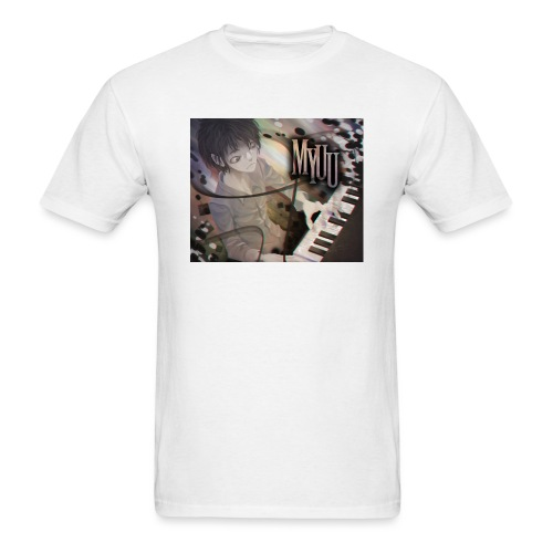 Dark Piano 1 - Men's T-Shirt