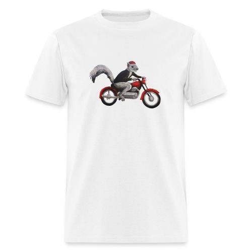 Speedbike Squirrel - Men's T-Shirt