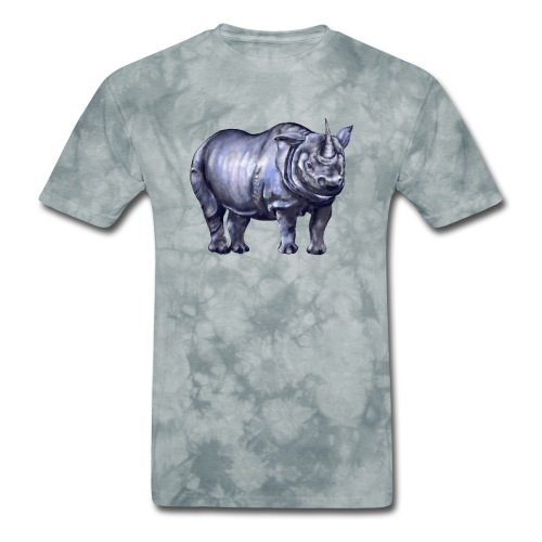 One horned rhino - Men's T-Shirt