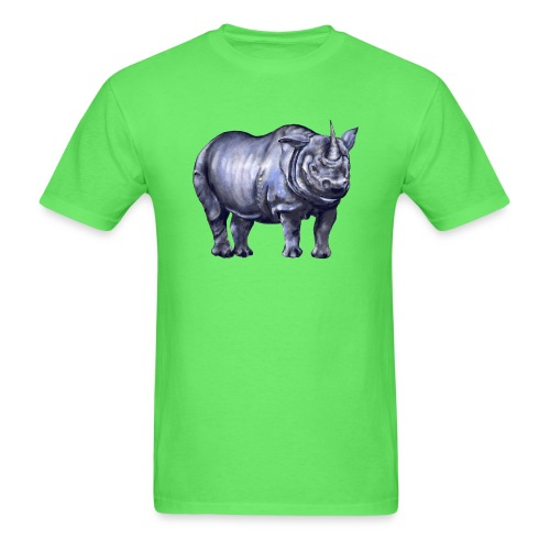 One horned rhino - Men's T-Shirt