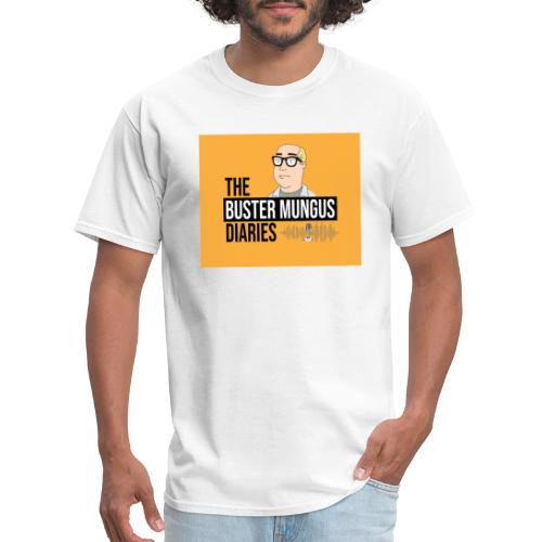 Buster Mungus Orange Logo Swag - Men's T-Shirt