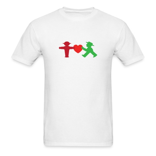 ampelmannchen love - Men's T-Shirt