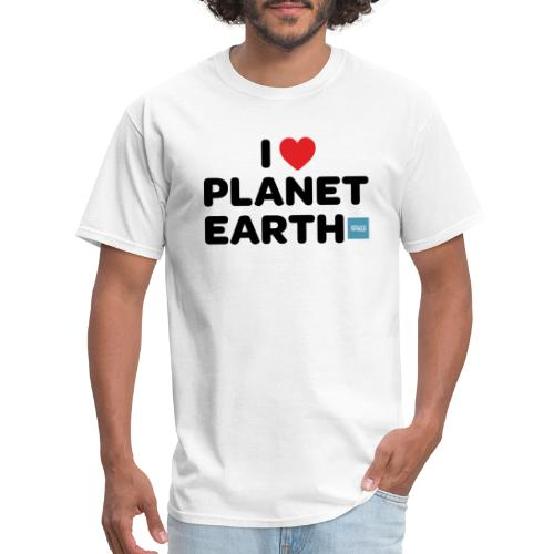 I Heart Planet Earth - Men's T-Shirt
