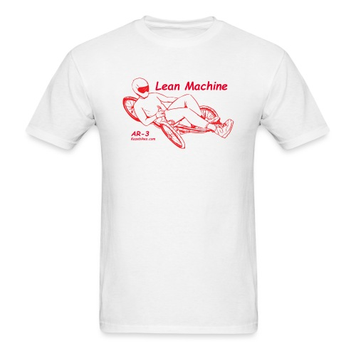 Lean Machine AR-3 all Red Logo Shirt - Men's T-Shirt