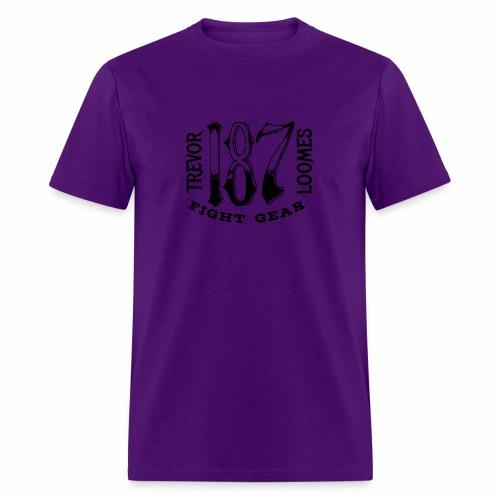 Trevor Loomes 187 Fight Gear Street Wear Logo - Men's T-Shirt