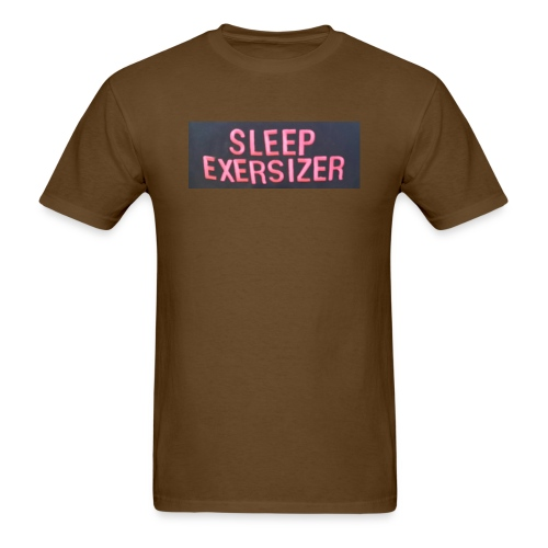Sleep Exersizer Words - Men's T-Shirt