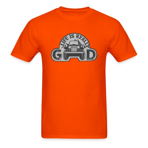 Life Is Really Good Jeep - Men's T-Shirt