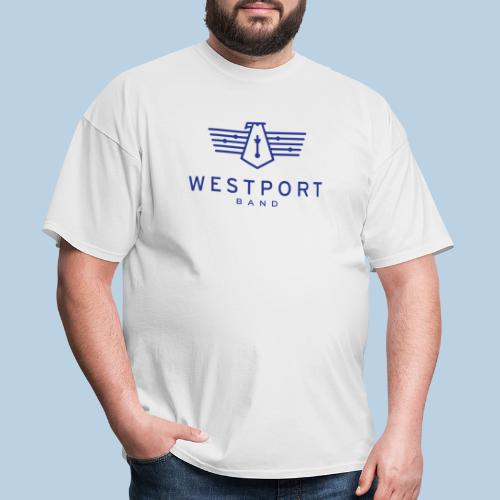 Westport Band Blue on transparent - Men's T-Shirt