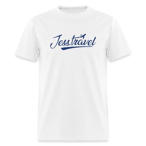 Jess Travel Logo LARGE Reverse - Men's T-Shirt