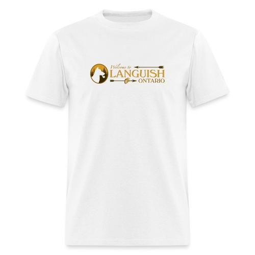 Welcome to Languish - Men's T-Shirt