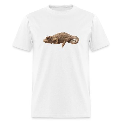 Lone Chameleon - Color - Men's T-Shirt