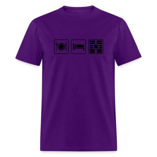 Eat Sleep Urb big fork - Men's T-Shirt