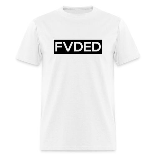 FVDED Cutout Black V1 - Men's T-Shirt