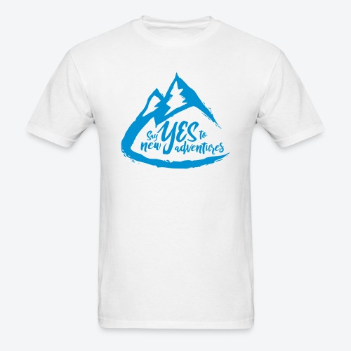 Say Yes to Adventure - Coloured - Men's T-Shirt