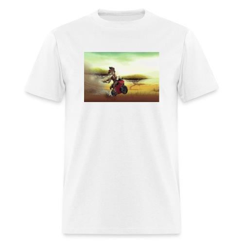 Chaka Zulu en roue arrière!! - Men's T-Shirt
