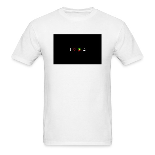 i love reggae music - Men's T-Shirt