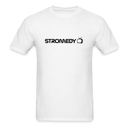 White Stromedy T-Shirt - Men's T-Shirt