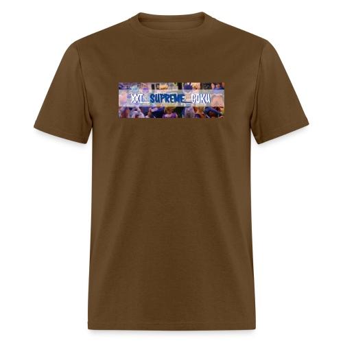 XXI SUPREME GOKU LOGO 2 - Men's T-Shirt