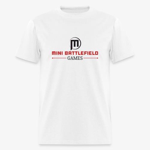 Mini Battlefield Games Logo - Men's T-Shirt