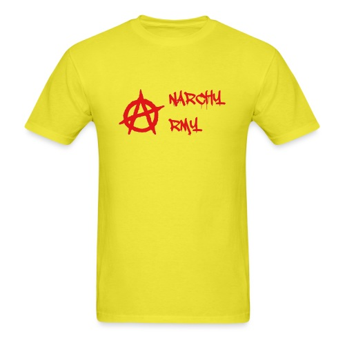 Anarchy Army LOGO - Men's T-Shirt