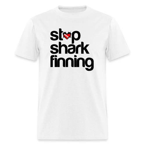 Stop Shark Finning - Men's T-Shirt
