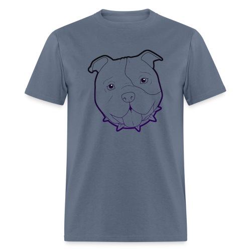 Pit Tee Outline alt. - Men's T-Shirt