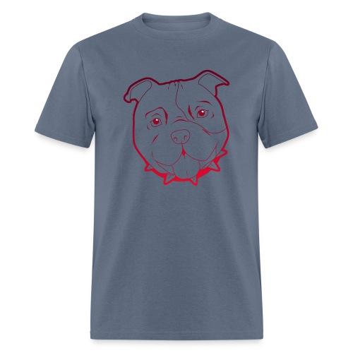 Pit Tee Outline - Men's T-Shirt