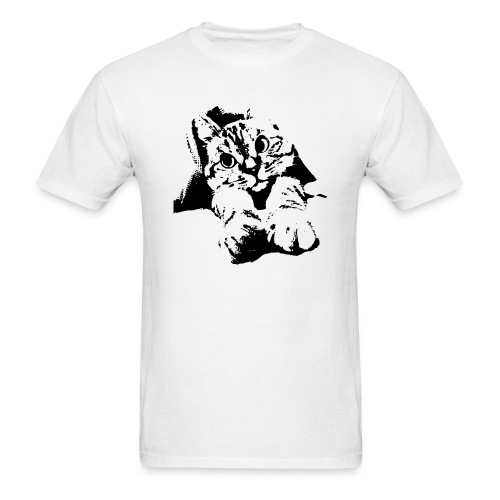 With Transparent Background - Men's T-Shirt