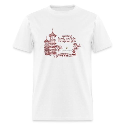 Josiah's Covenant - creating family - Men's T-Shirt