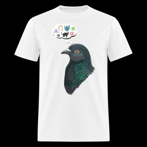 Skinner s Pigeon - Men's T-Shirt