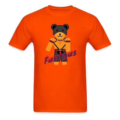 Leather Furrrgus - Men's T-Shirt
