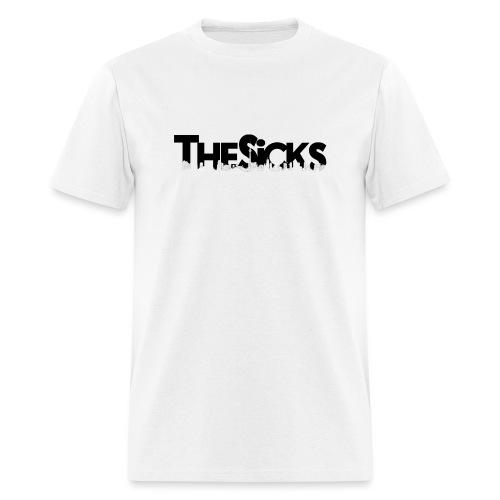 The Sicks - logo black - Men's T-Shirt