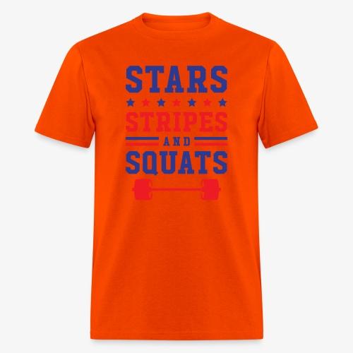 Stars, Stripes And Squats - Men's T-Shirt