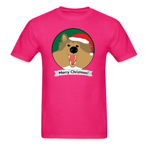 Holly the Collie Xmas - Men's T-Shirt