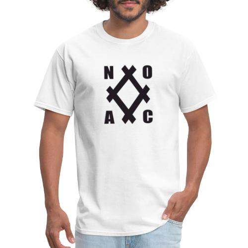 noac b diamond transparent - Men's T-Shirt