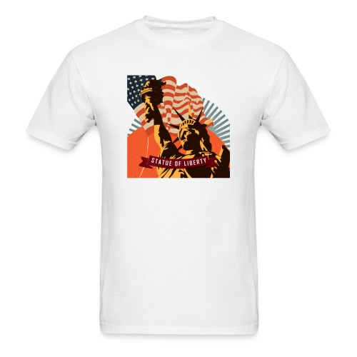 Statue of Liberty - Men's T-Shirt