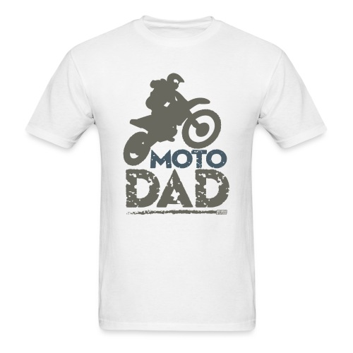 Dirt Bike Dad - Men's T-Shirt