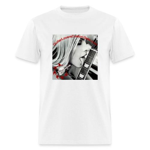 True Guitar Lover - Men's T-Shirt