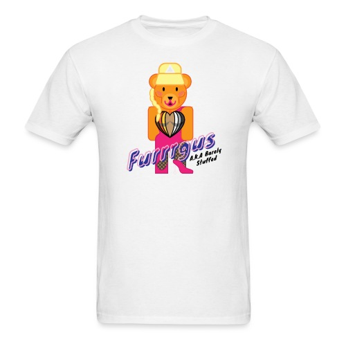Barely Stuffed - Men's T-Shirt