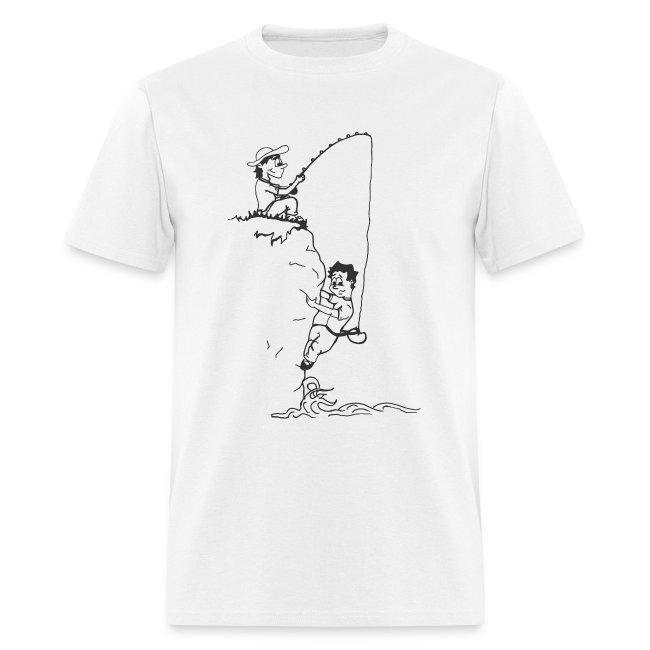 climbing tshirt vector dws fisherman
