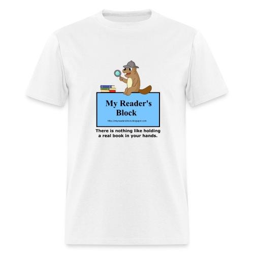 My Reader's Block Tee Mens Style #2 - Men's T-Shirt