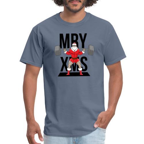 Santa lifts - Men's T-Shirt